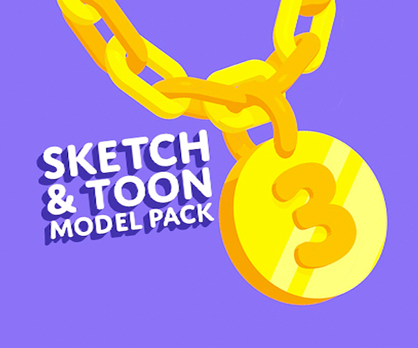 Sketch & Toon Model Pack v.03