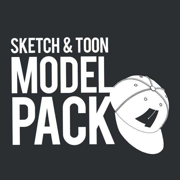 Sketch & Toon Model Pack v.04