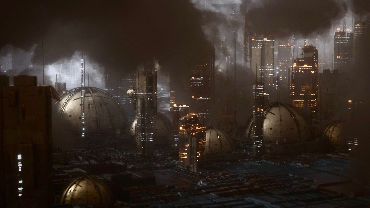 Create a Futuristic City Using Octane Scatter and