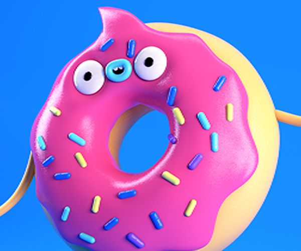 Make a Plastic Vinyl Toy Texture in Cinema 4D | eyedesyn
