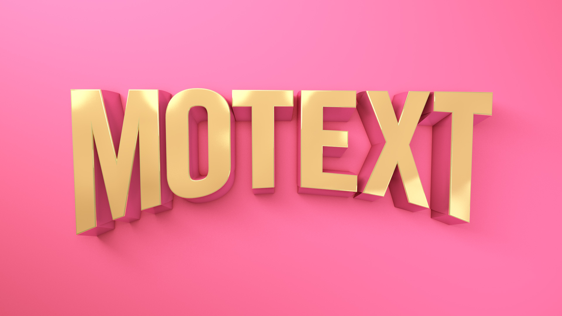 Creating Great Looking 3D Text in Cinema 4D | eyedesyn