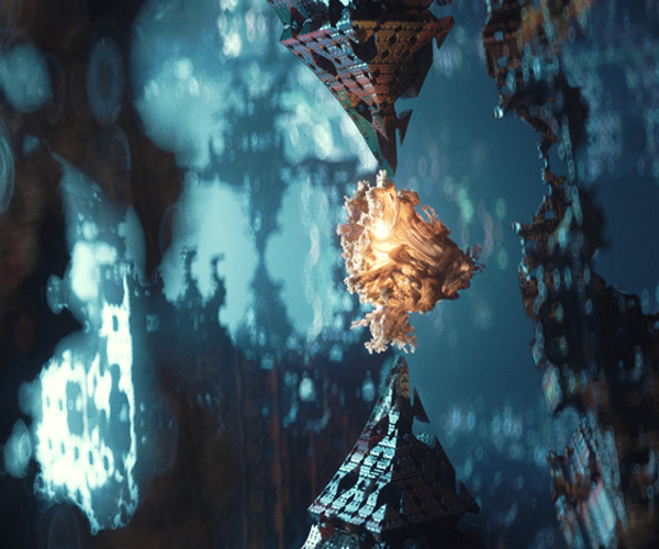 Creating Abstract Fractal Animations Using Vectron in Octane 2018 for Cinema 4D